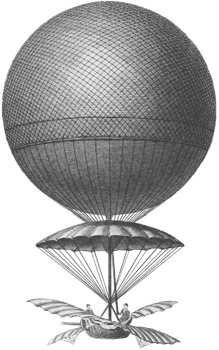 Blanchard's air balloon